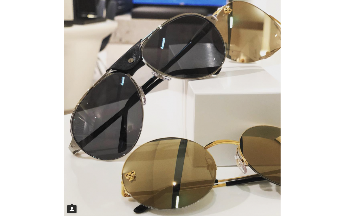 Instagram Post Brillenmarkt/SunglassAddict 10/01/2018