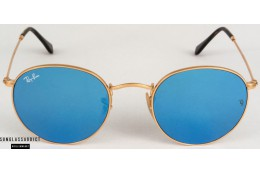 RAY-BAN RB3447N Round Flat Lenses